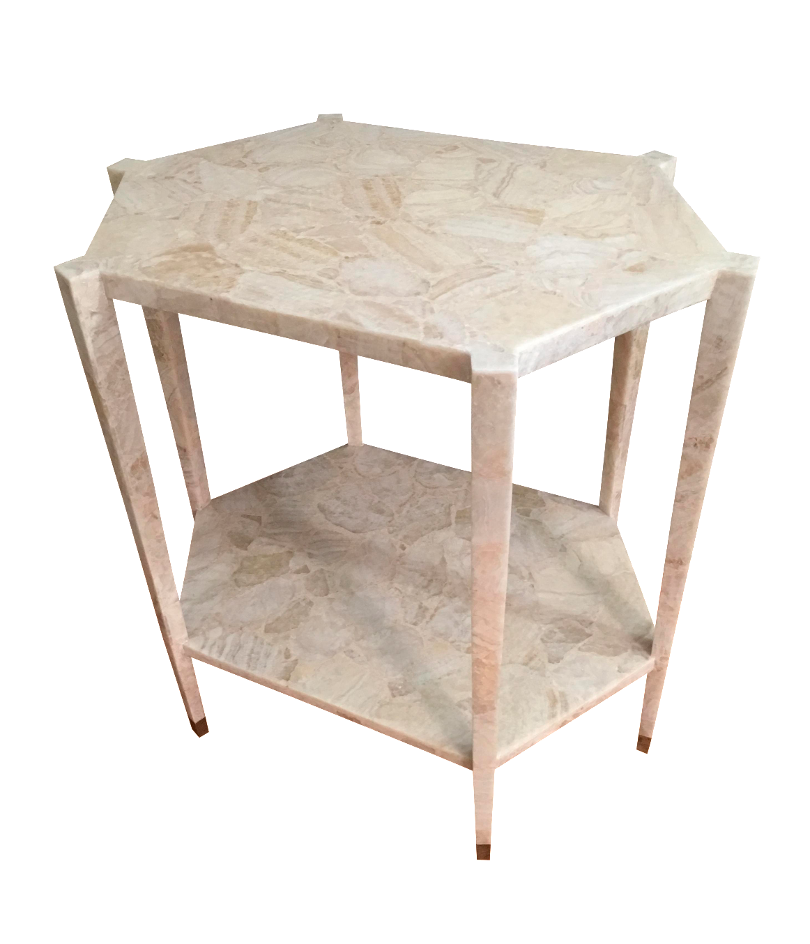 vintage entry table. Vintage Hexagonal Alabaster Side Table/Entry Table Entry E