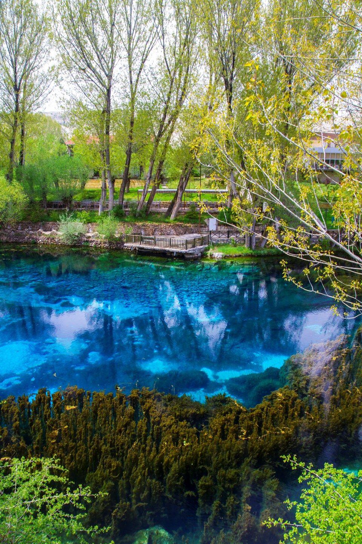 Anadolu'nun saklı cenneti Gökpınar Gölü #seyahatedilecekyerler