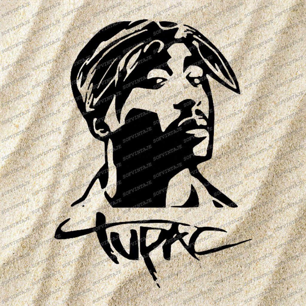 Tupac Shakur 2pac Svg File Tupac Shakur Svg Design Clipart Singer Hip Hop Svg File Actor Png Vector Graphics Svg For Cricut For Silhouette Svg Vector Graphics Svg Design Silhouette Svg