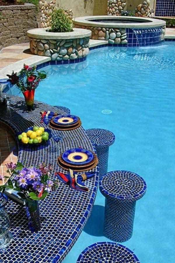 Pool Designs With Bar swim up bar designs | swim up bar lagoon pool | pools | pinterest