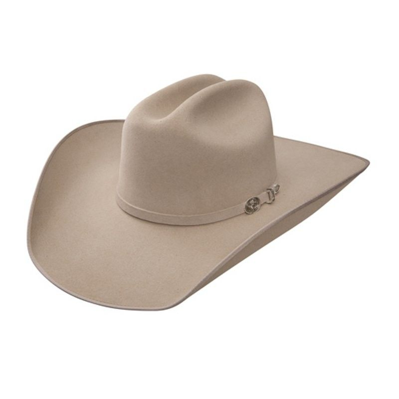 Resistol Mens Ranch Tan Bronc B Cowboy Felt Hat Felt Cowboy Hats Cowboy Hats Cowboy Hat Styles