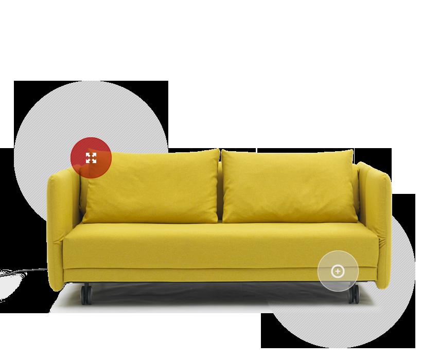 Divani e divani letto Campeggi s.r.l. | 40m2 | Pinterest