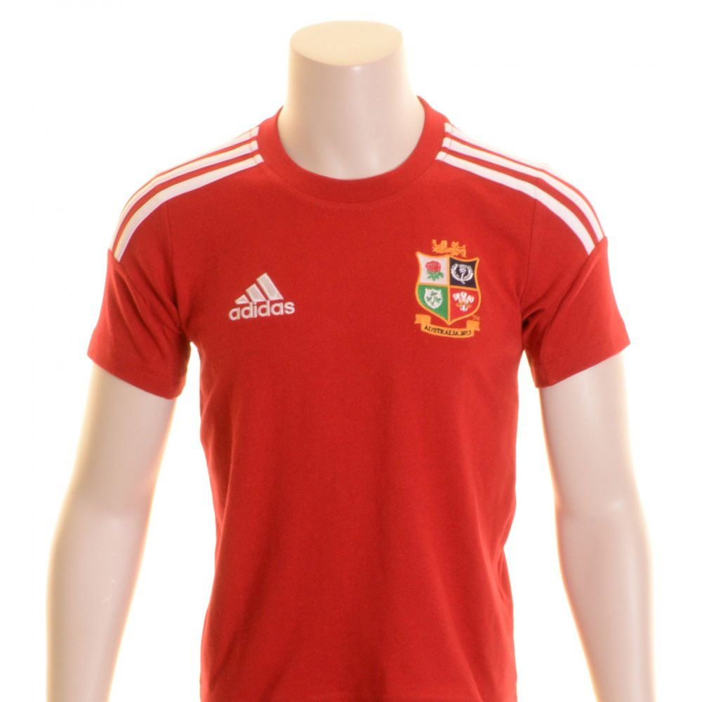 a009ed1f Adidas Junior British and Irish Lions Rugby T-Shirt Red - £20.00 at ...