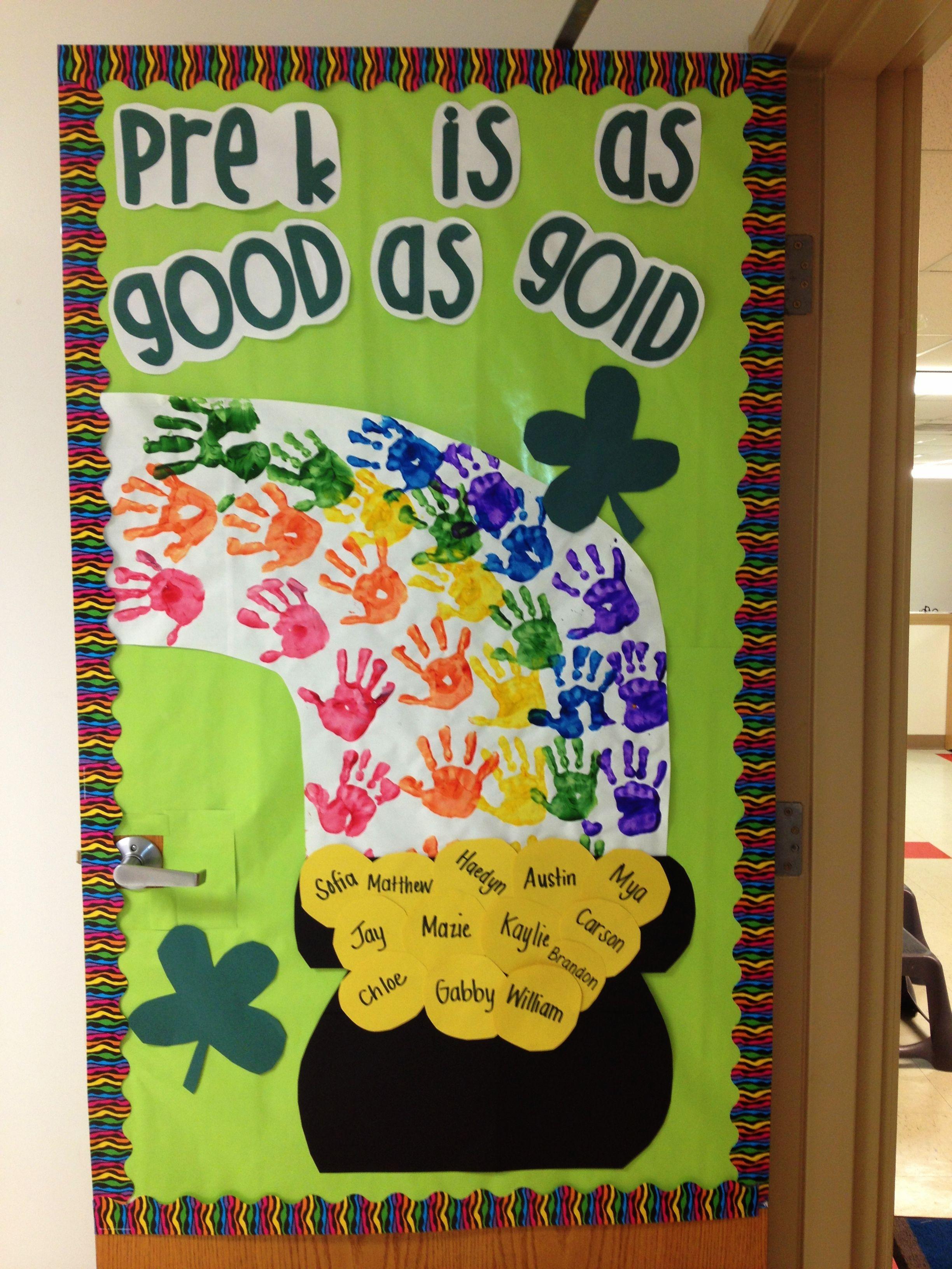 St. Patrick's Day Bulletin Board! | Preschool bulletin ...