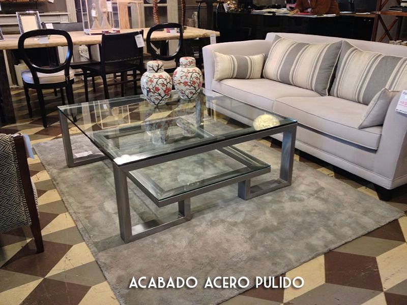 Mesa de centro acero Steel en 2018 | Home deco and garden ideas ...