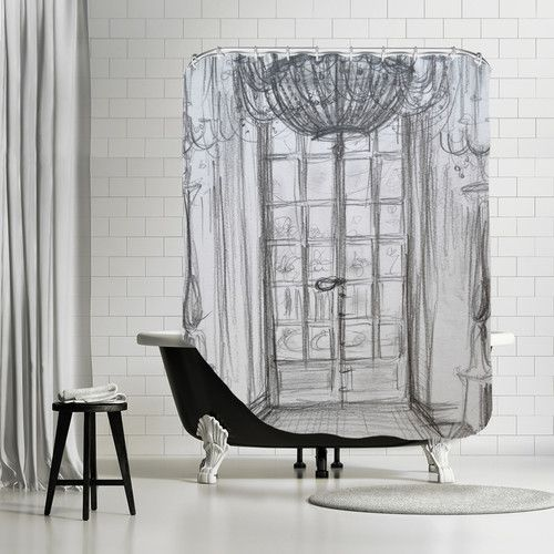 Shower Curtain Designs For Minimalist Bathroom How To Choose It Properly From Where Buy Differs Other Types Of Interior Elements