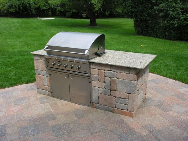 Outdoor Kitchen Grill Island Gardening Supplies Compare Prices