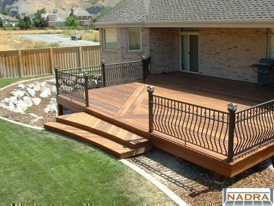Handrails For Your Deck Or Patio Deck Railings