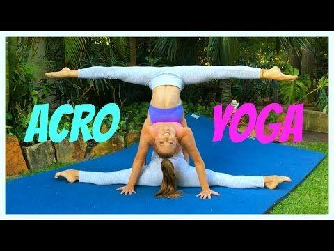 extreme yoga challenge with 3 people  the rybka twins