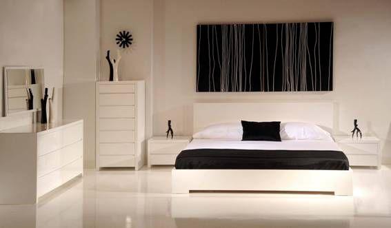 chambre-adulte-blanche-9 | Décoration ! | Pinterest | Chambre ...