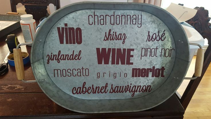 Genius idea to take apart an #uppercaseliving #wine expression and apply the individual words to a #ray.  #upcycle #vino #youhadmeatmerlot #cheers #ultorreh