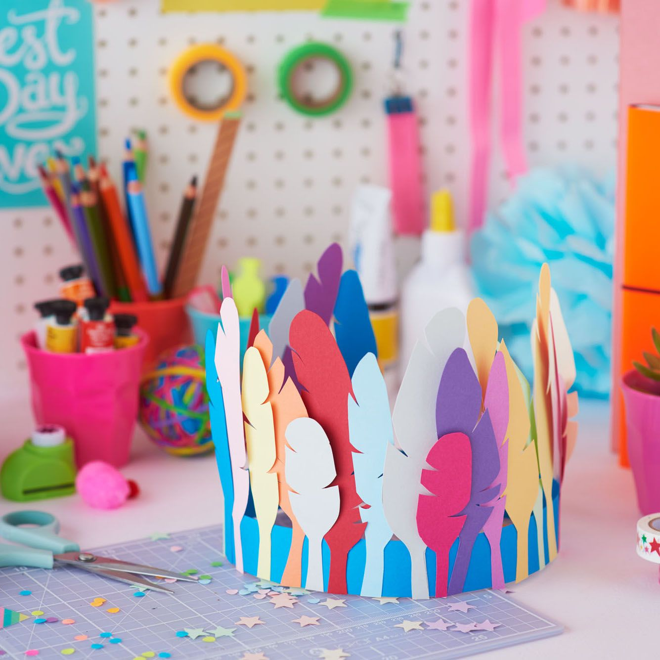 Learn How To Make This Amazing Paper Crown At One Of Our Kids Craft