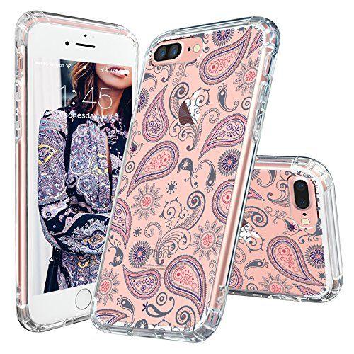 Amazon Com Iphone 7 Plus Case Mosnovo Floral Collection Printing Flower Clear Design Transparent Plast Accessoires Iphone Coque Iphone 6 Etuis Pour Iphone 6s