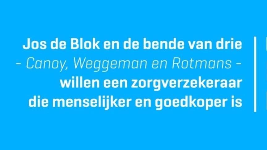Jos de Blok van Buurtzorg zet nieuwe zorgverzekering op | Het komende jaar willen de initiatiefnemers 10.000 deelnemers werven. De zorgverzekering zou dan op zijn vroegst per 2017 beschikbaar zijn.
