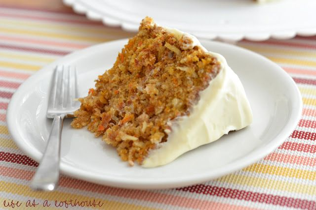 Life as a Lofthouse (Food Blog): The Best Carrot Cake