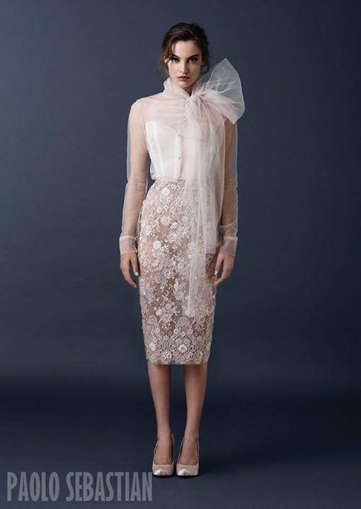 Paolo Sebastian AW 2015 Collection | Paolo sebastian, Dress ...