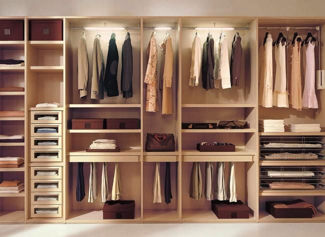 Types of Wardrobe Designs: 1) Plywood wardrobes 2 ...