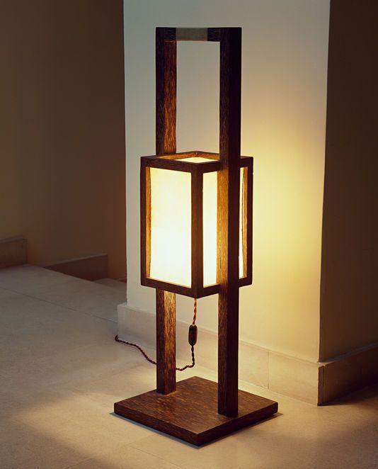 Art Deco Art Rare Lanterne Bois Lampe Bois Design Idees De Meubles