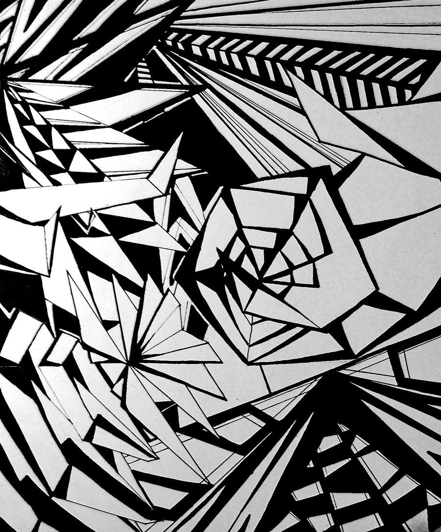 abstract drawing | abstract drawing by starfruit121 traditional ...