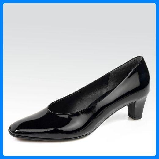 dd3ae6a0938f Gabor Damen Leder-Schuhe, schwarz - Schwarzer Lack - Größe  EU 36,5 ...