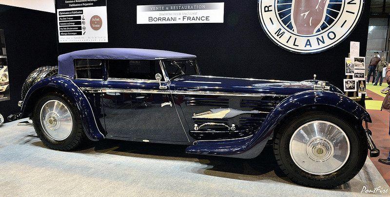 1930 BUCCIALI TAV 30 Saoutchik Old classic cars, Cars