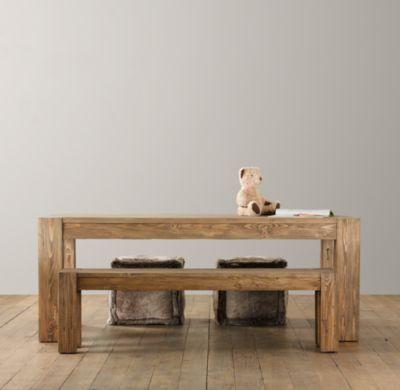 Wonderful Vintage Parsons Play Table | Playroom | Restoration Hardware Baby U0026 Child
