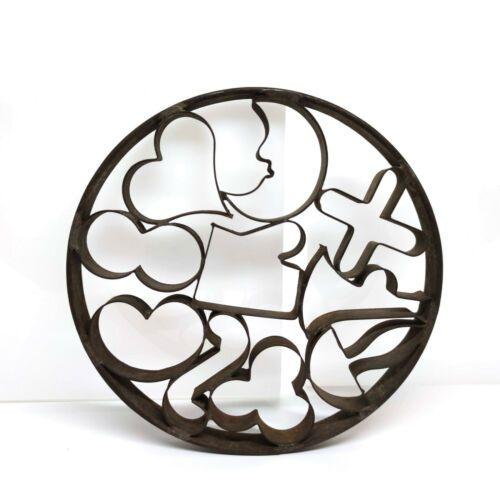 Antiker Ausstecher Metall für Plätzchen Rund 10 Formen   eBay