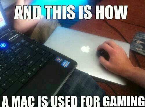 Apple Mac Pc Gaming Funny Games Gamer Humor Video Game Memes