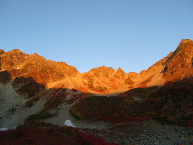涸沢の紅葉&モルゲンロート穂高岳 ⑤  ゆきえの登山日記