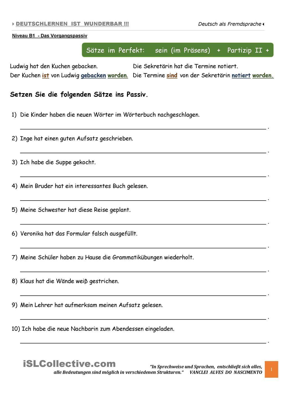 A2 Das im Perfekt Deutsch als