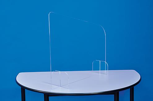 Séparateur de bureau en plexiglass mobilier plexiglass