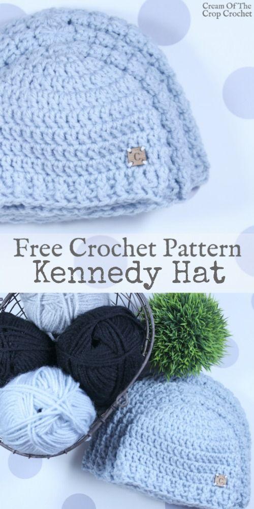 Kennedy Hat Crochet Pattern   Cream Of The Crop Crochet   crotchet ...
