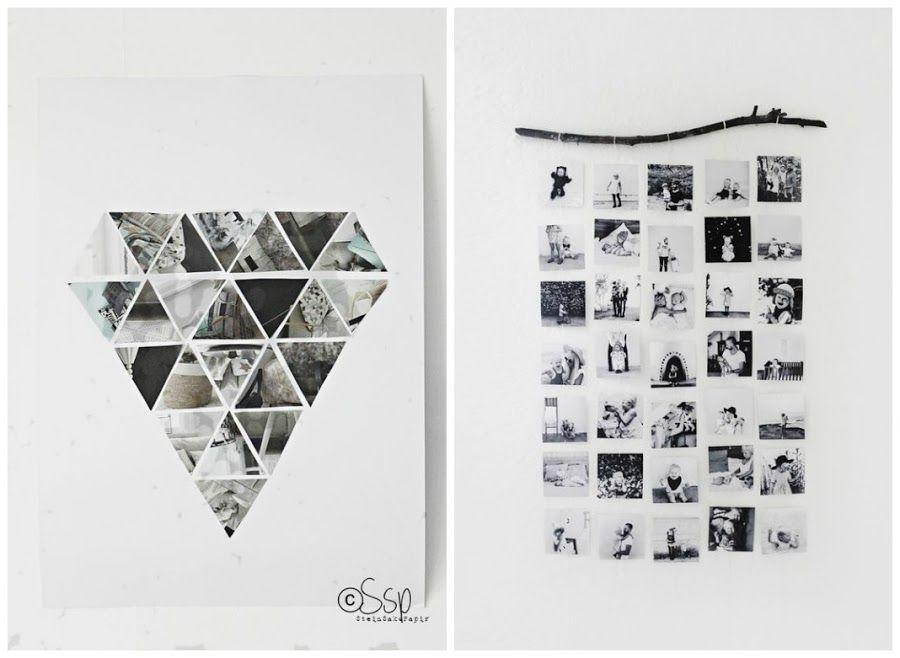 Ideas para decorar con fotos fotos collages y fotos - Ideas para decorar paredes con fotos ...