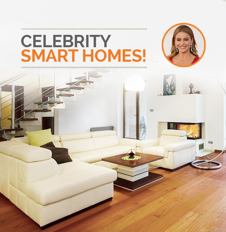 Your favorite celebs and the home automation they love!