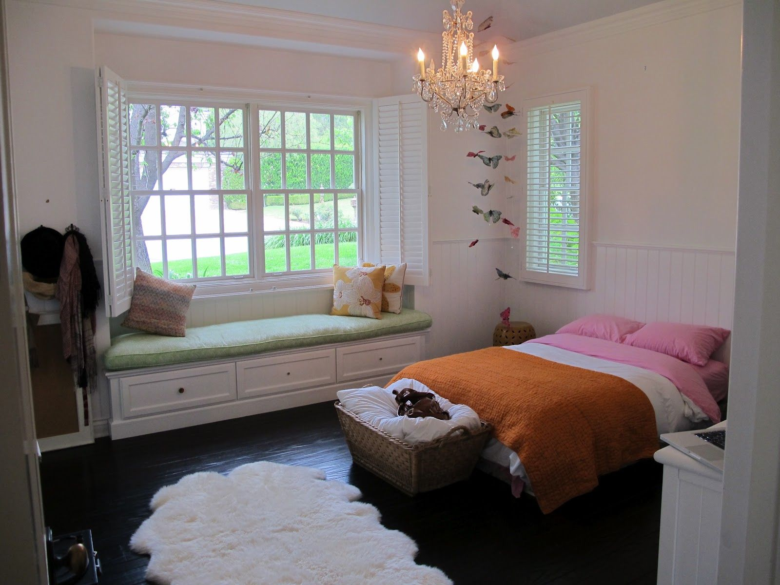 Window bedroom design  amber interiors window seat  girls room  pinterest  window