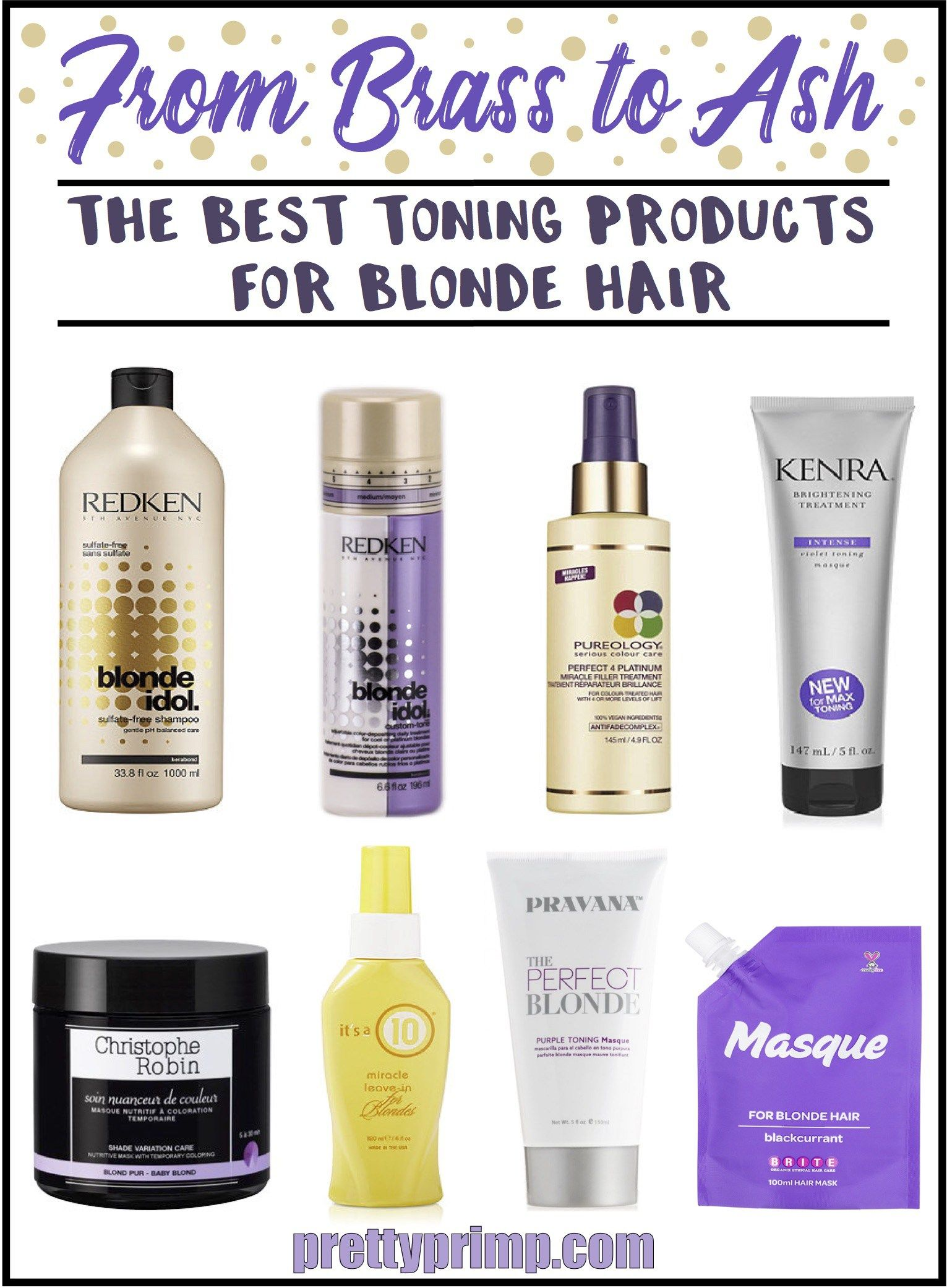 20 Best Toning Products And Purple Shampoos For Beautiful Blonde