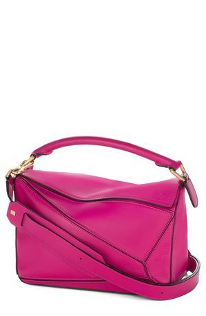 Loewe 'Mini Puzzle' Calfskin Leather Bag