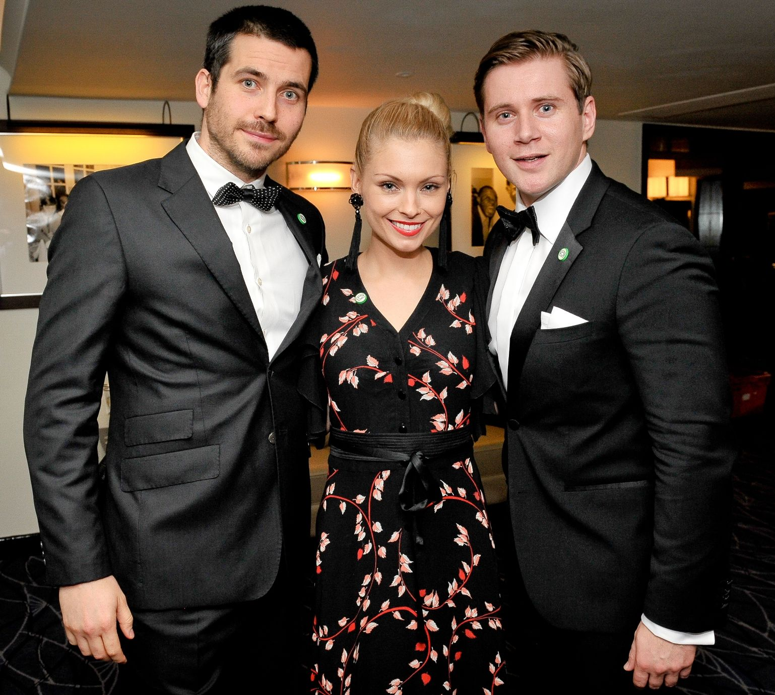 Rob James-Collier, MyAnna Buring and Allen Leech at the ...