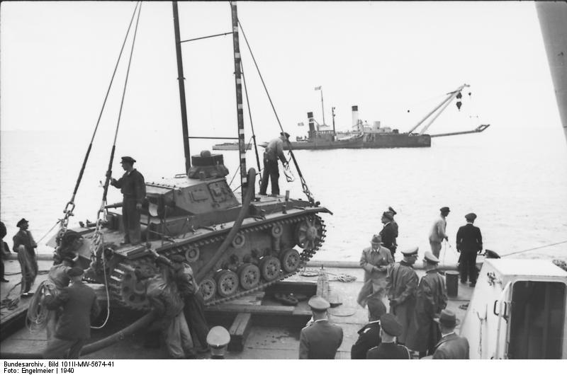 Pz.Kpfw III diving tank
