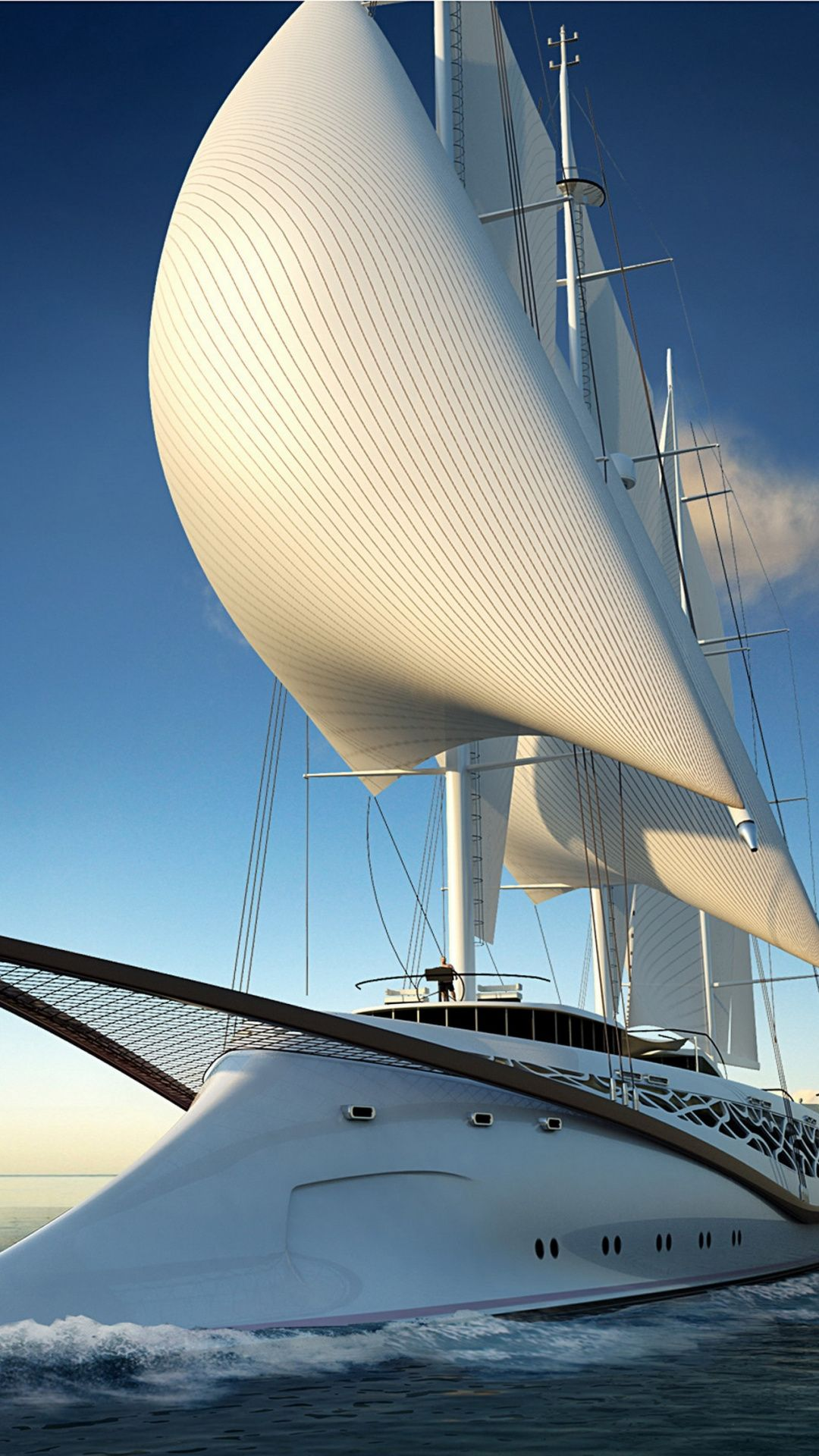 Wallpapers Luxury Yacht Parus Sky Water Transportation Sailing Yacht Sailing Yacht Luxury Yachts Sailing