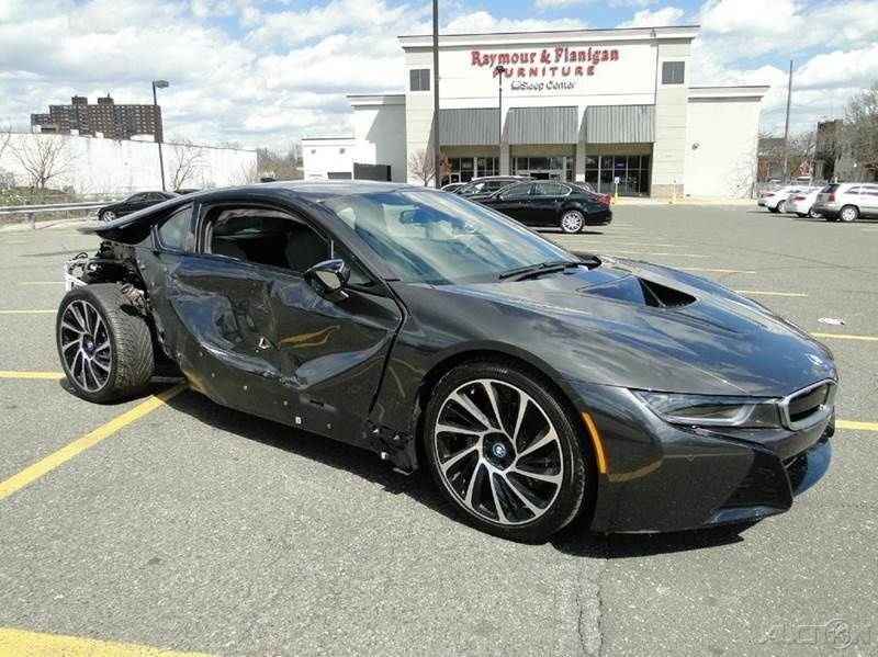 2015 Bmw I8 Coupe Turbo 1 5l Automatic Repairable Wrecked Sport