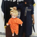 BARBARIC: Islamic radicals teach their children to behead dolls
