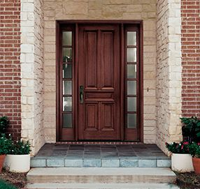 Pella Wood Entry Door | For the Home | Pinterest | Wood entry doors ...