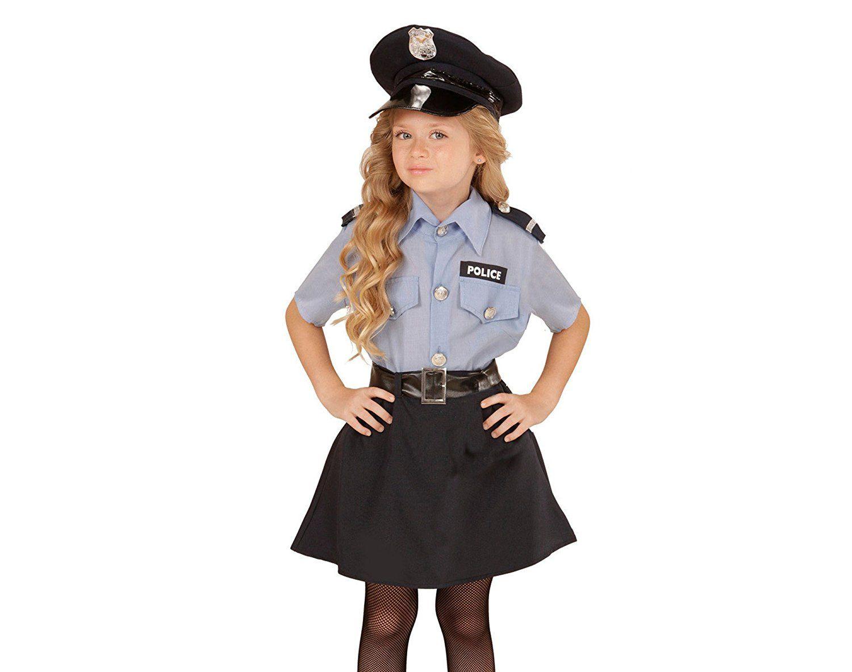 Kinderkostüm für kleine Mädchen, die sich gern als Polizistin ...