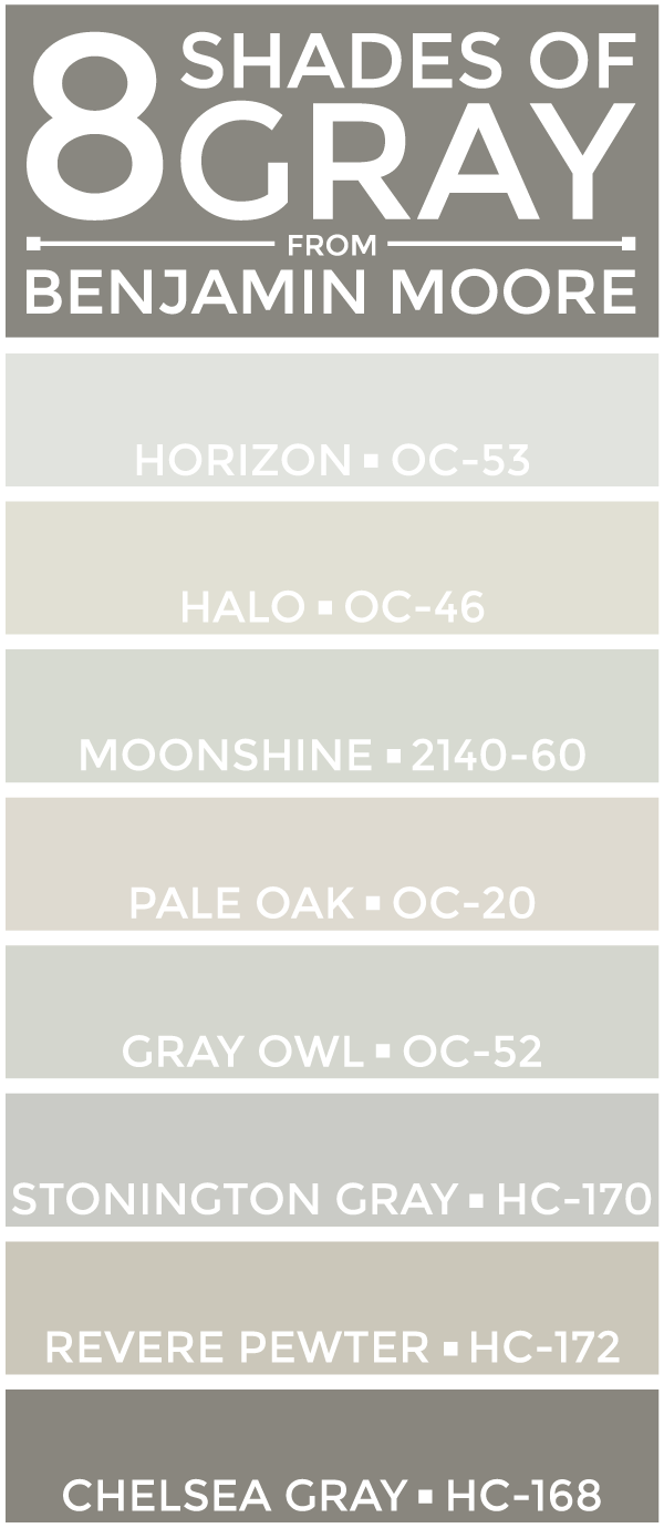 Shades Of Gray Paint eight shades of gray (paint). (ali v.) | neutral color palettes