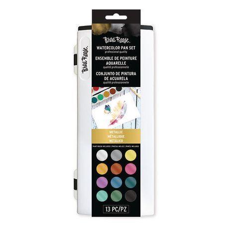 Momenta Inc Brea Reese Watercolor Pan Set Metallic Paint Set