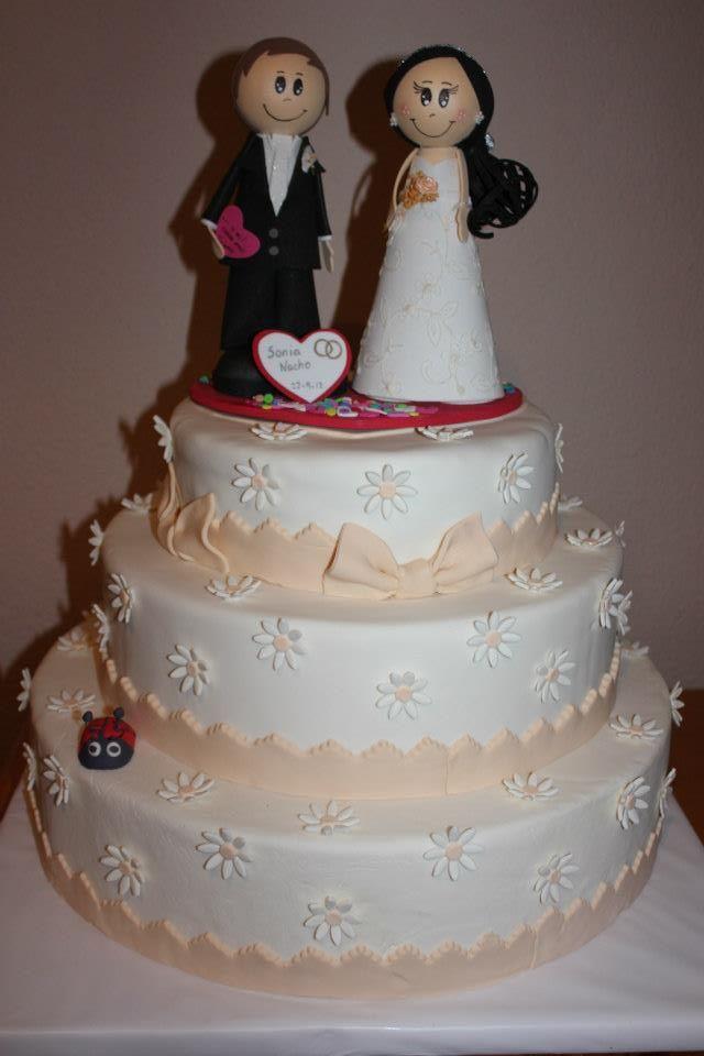 Tarta de boda para Sonia y Naxiño