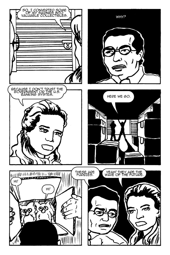 """Homeward Bound pt. 3"" from ""The Schlub"" by Illya King #webcomics #indiecomics #comics"