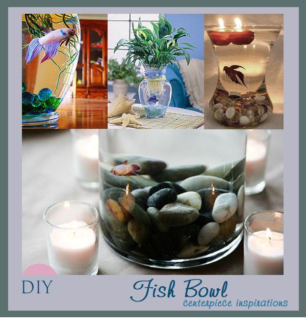 Fish Bowl Wedding Centrepiece Ideas: Betta Fish Centerpieces For Weddings
