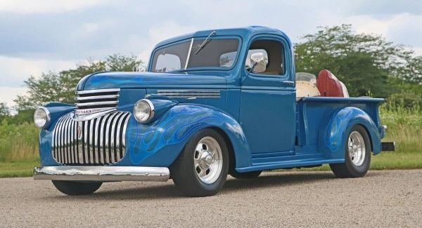 1941 Chevy Pick up owned by Roger Robinson